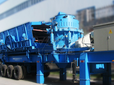 Portable Cone Crushers